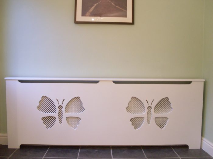 butterfly double radiator cover