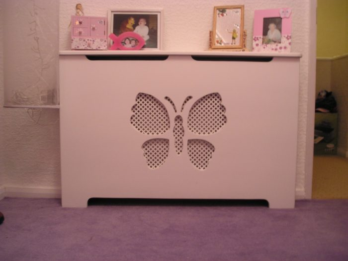 Butterfly radiator cover