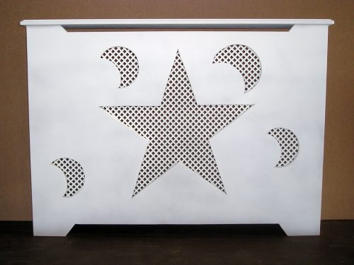 Moon & Stars Radiator Cover
